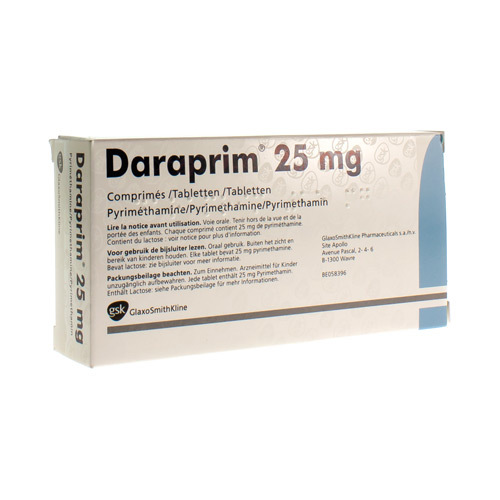Daraprim 25 Mg (30 Tabletten)