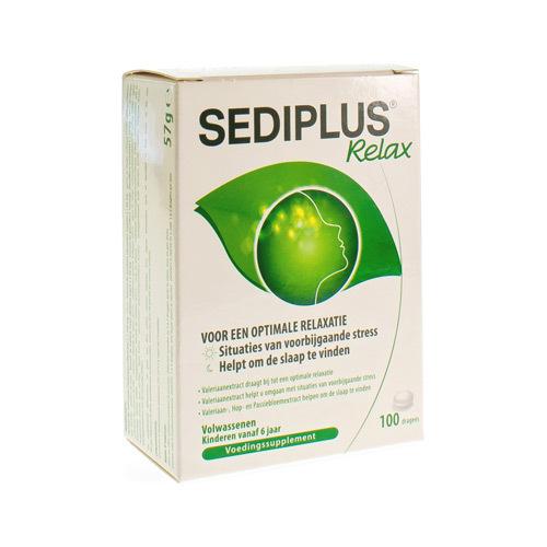 Sediplus Relax 100 Tabl