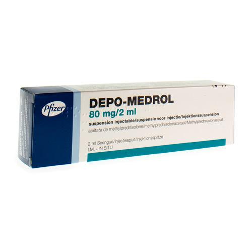 Depo-Medrol 80 Mg/2 Ml  1 Seringue