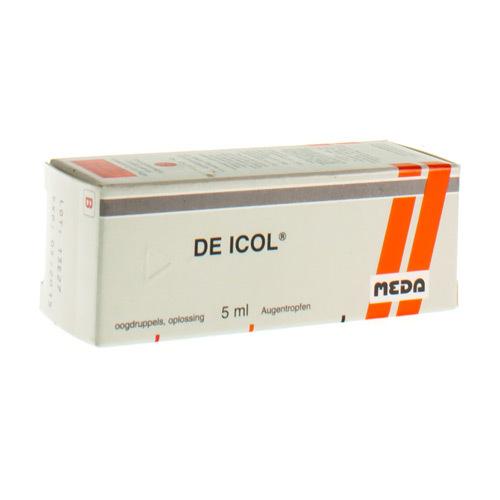 De Icol Oogdruppels (5 ml)
