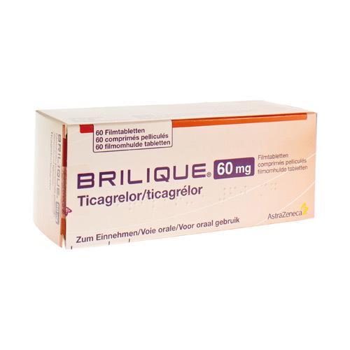 Brilique 60Mg Comprimes Pell 60 X 60Mg