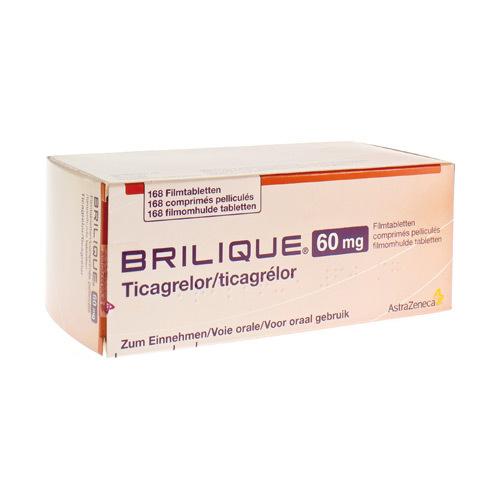 Brilique 60Mg Comprimes Pell 168 X 60Mg