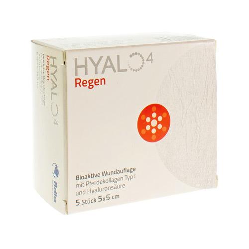 Hyalo 4 Regen Gaze 5X5Cm 5Pcs