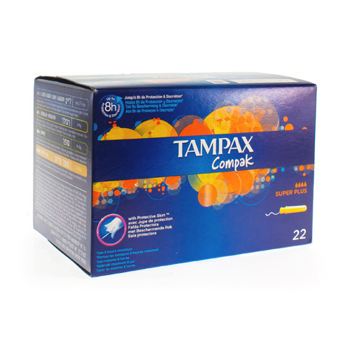 Tampax Super Plus Compak 22Tamp