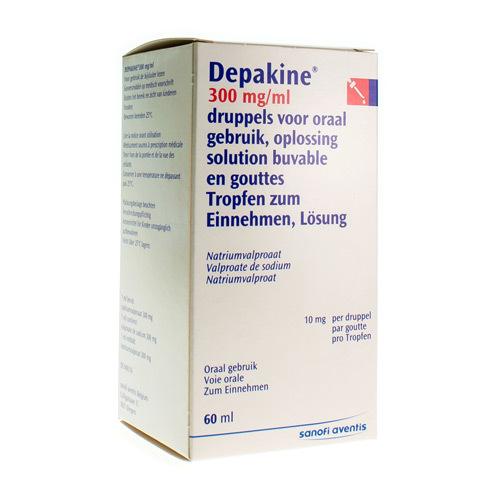 Depakine 300 mg/ml (60 ml)