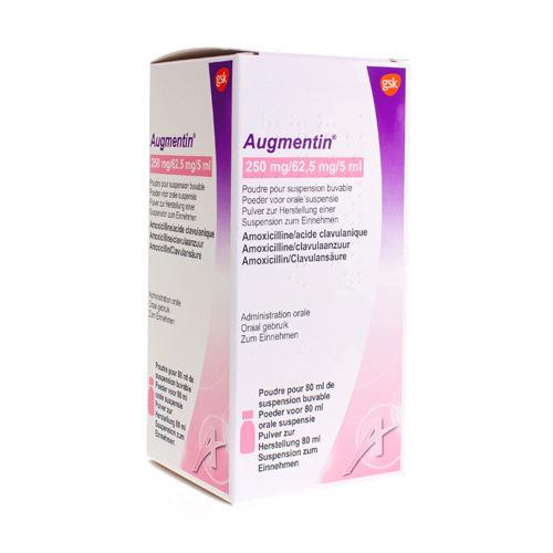 Augmentin 250 Mg / 62,5 Mg  80 Ml