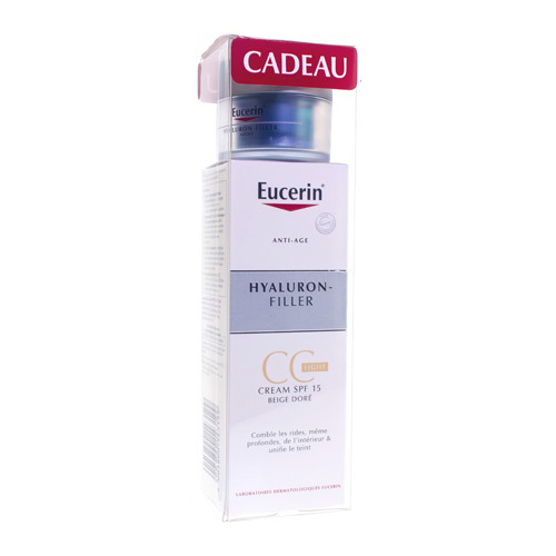 Eucerin Hyaluron Fil.cc Cr Light50ml+madurodam20ml