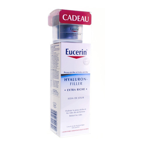 Eucerin Hyaluron Fil.Xtr Riche Jour50Ml+Madur.20Ml