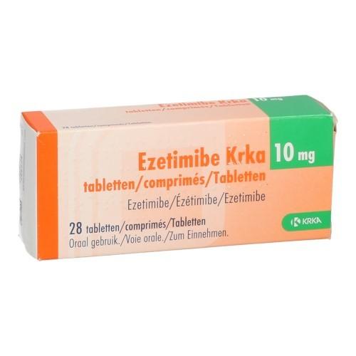 Ezetimibe Krka 10Mg Comp 28