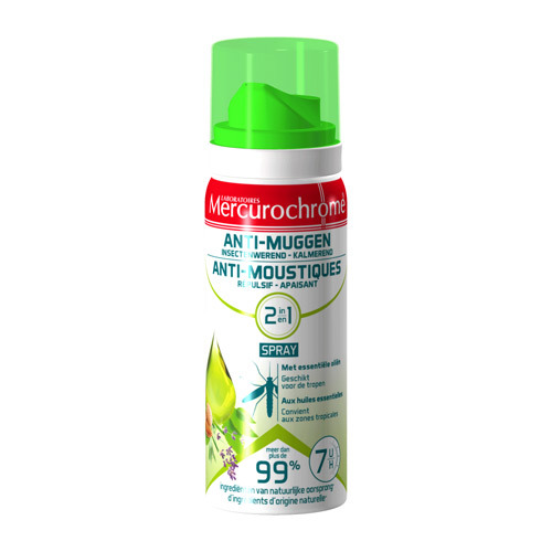 Merchurochrome Spray 2En1 Huile Ess. 100Ml