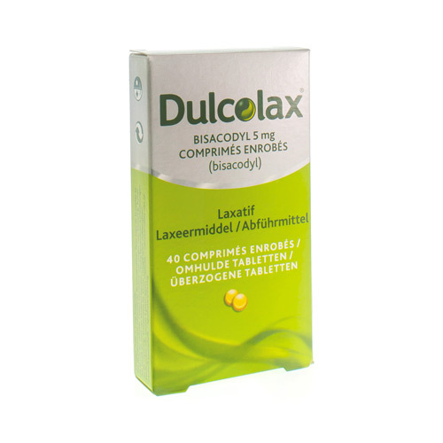 Dulcolax Bisacodyl 5 Mg (40 Tabletten)