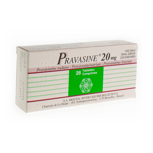 Pravasine 20 Mg (28 Tabletten)
