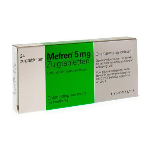 Mefren 5 mg (24 zuigtabletten)