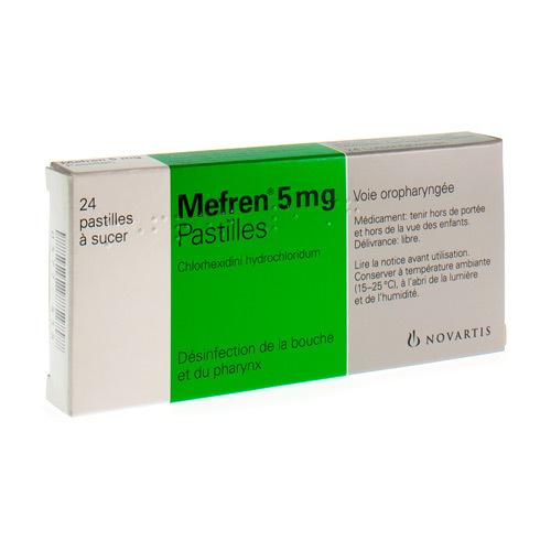 Mefren 5 Mg (24 Pastilles a Sucer)
