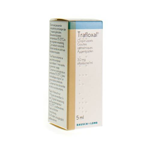 Trafloxal 3 Mg/Ml (5 Ml)