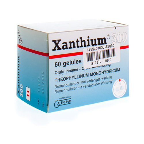 Xanthium 300 Mg (60 Gelules)