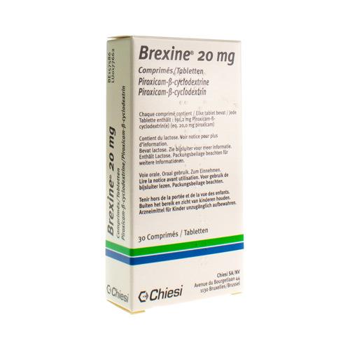 Brexine 20 Mg  30 Comprimes