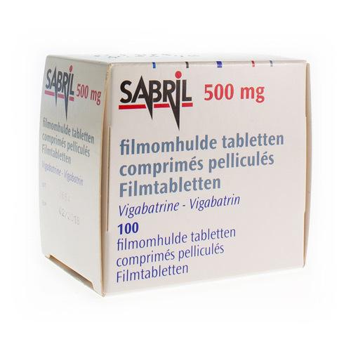 Sabril 500 Mg (100 Tabletten)