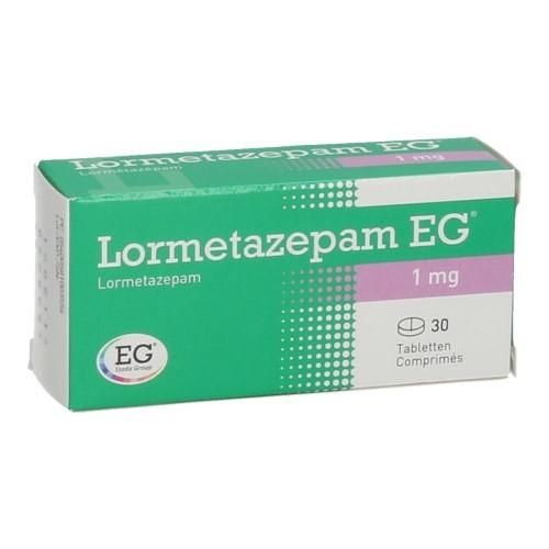 Lormetazepam EG 1 Mg (30 Comprimes)