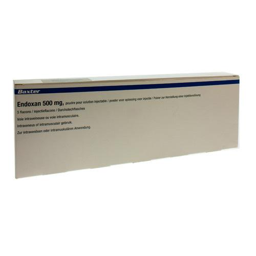 Endoxan 500 Mg (5 Flacons)