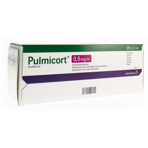 Pulmicort 0,50 Mg/Ml (20 X 2 Ml)