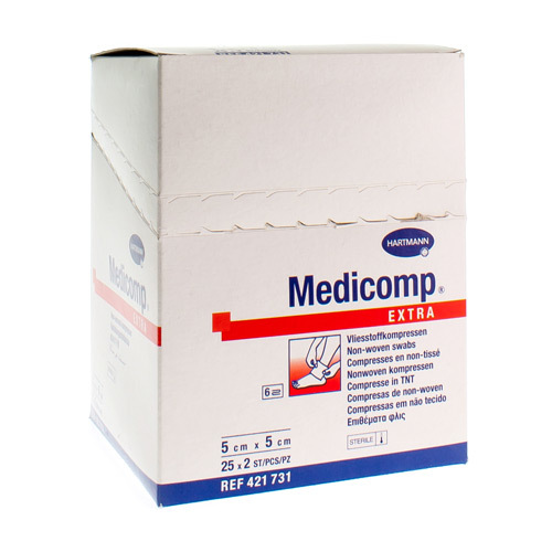 Medicomp 5X5 Ster 6L 25X2 Pieces 4217314