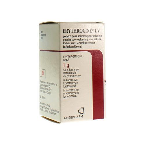 Erythrocine I.V. 1 G (1 Fles)