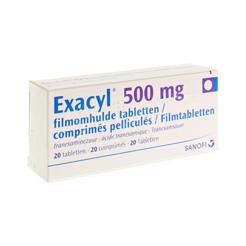 Exacyl 500 Mg (20 Comprimes)
