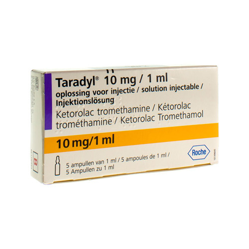 Taradyl 10 Mg/1 Ml (5 Ampoules)
