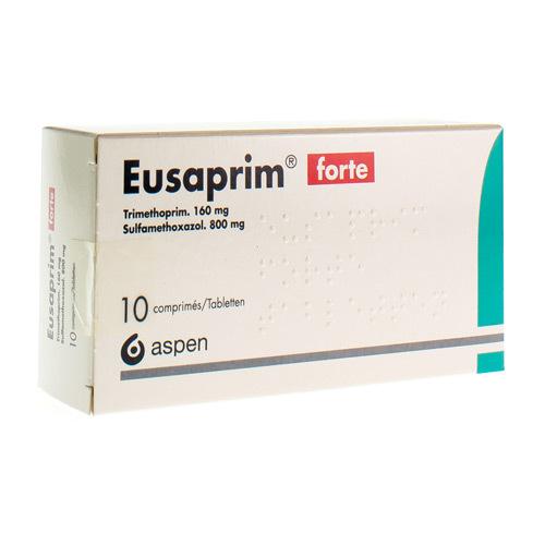 Eusaprim Forte 160 Mg / 800 Mg (10 Comprimes)