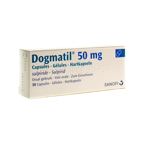 Dogmatil 50 Mg  30 Capsules