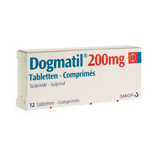 Dogmatil 200 mg (12 tabletten)