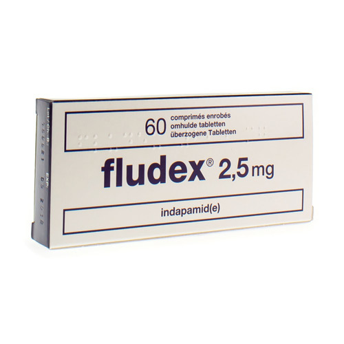 Fludex 2,5 mg (60 tabletten)