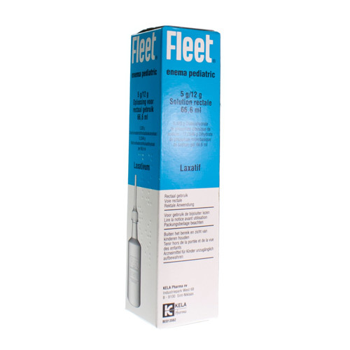 Fleet Enema Pediatric 5 G / 12 G (64 Ml)