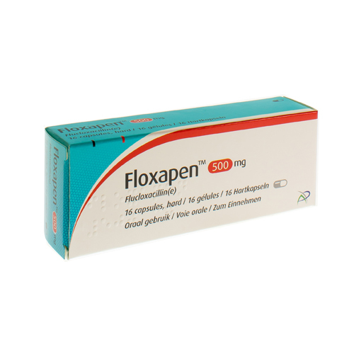 Floxapen 500 Mg (16 Gelules)