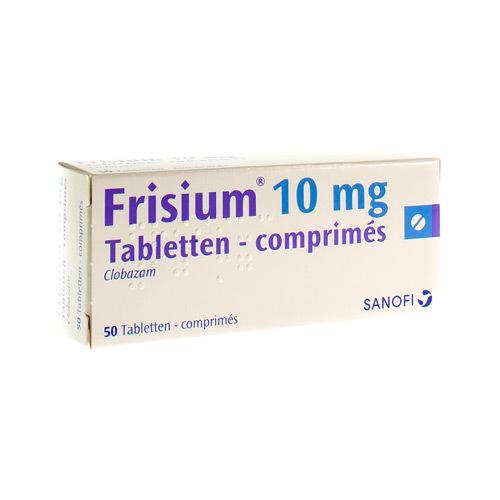Frisium 10 Mg (50 Comprimes)