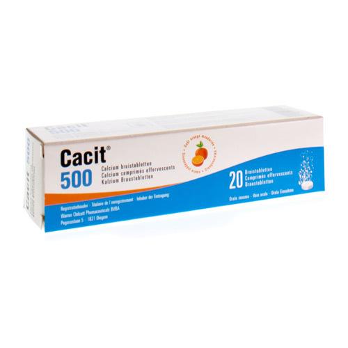 Cacit 500 Mg  20 Comprimes Effervescents