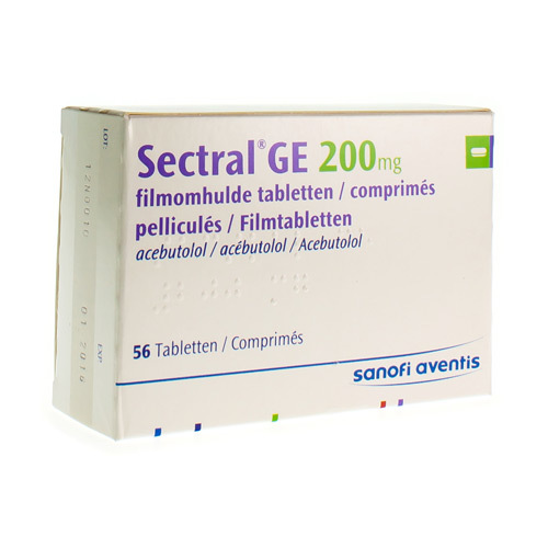 Sectral Ge 200 Mg (56 Tabletten)