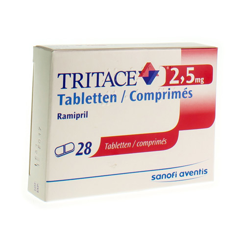 Tritace 2,5 Mg (28 Comprimes)