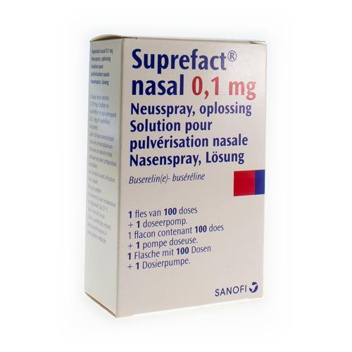 Suprefact Nasal 0,1 Mg (1 Flacon)