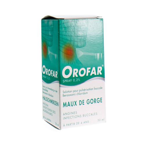 Orofar Spray 0,2% (30 Ml)
