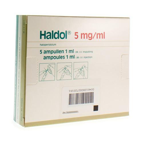 Haldol 5 Mg (5 Ampoules)