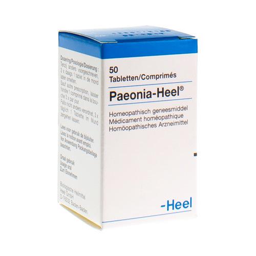 Paeonia 50 Tabletten Heel