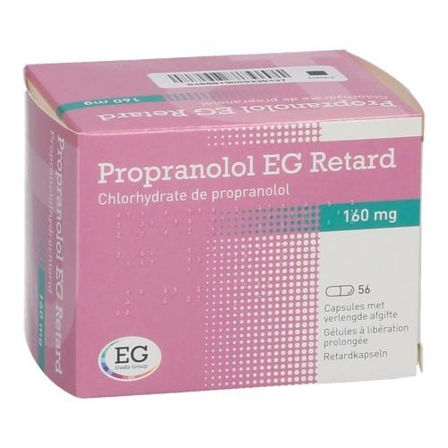 Propranolol EG Retard 160 G (56 Capsules)