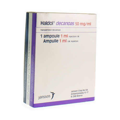 Haldol Decanoas 50 Mg/Ml (1 X 1 Ml Ampul)