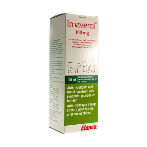 Imaverol Veterinair 100 Mg/Ml (100 Ml)