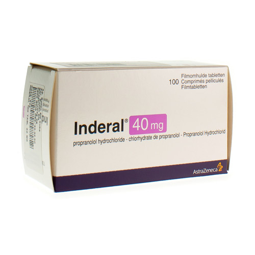 Inderal 40 Mg (100 Tabletten)