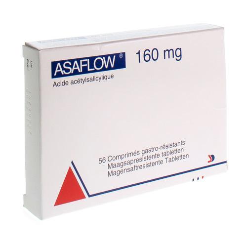 Asaflow 160 Mg  56 Comprimes