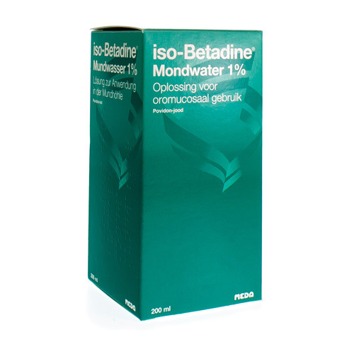 Iso-Betadine Mondwater 1% (200 Ml)
