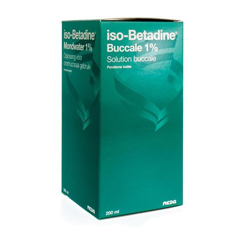 Iso-Betadine Buccale 1% (200 Ml)